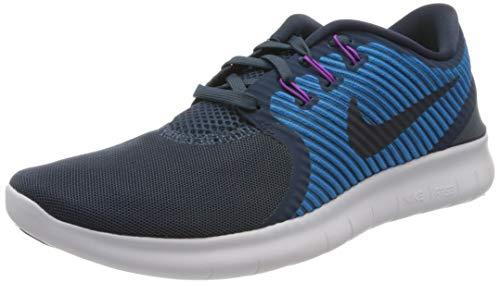 Nike Women's Free Rn Cmtr Squadron Blue/Dark Obsidian Ankle-High Running Shoe - 9.5M