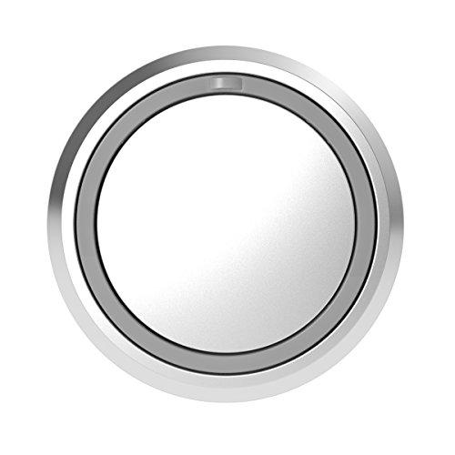 Honeywell Home Funk-Klingeltaster mit LED-Funktionsanzeige, rund, grau DCP711G