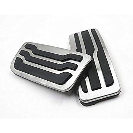 Fußpedal Pedalkappen Auto Pedale Abdeckung Aluminiumlegierung Gummi Für F 150 Pedal Auto