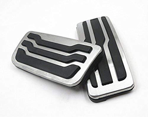 pedali pedale tappi Per F-150,Pedale per macchine con cambio automatico Pedali poggiapiede alluminio con Gomma Antiscivolo