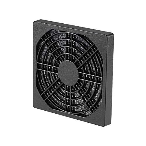 YeVhear - Ventilador de refrigeración con filtro antipolvo de PVC para caja de 90 x 90 mm, paquete de 2 unidades