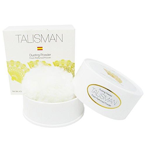 Talisman Perfumed Dusting Powder with Puff, 4 oz