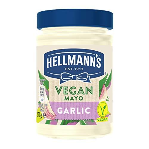Hellmann's Vegan Garlic Mayo condiment for sandwiches, wraps and salads 270...