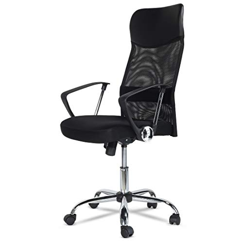 Premium Executive Style Office Chair High Back Mesh Chair Height Adjustable Armchair with Swivel and Lumbar Support Ergonomic with 2 year Warranty!
