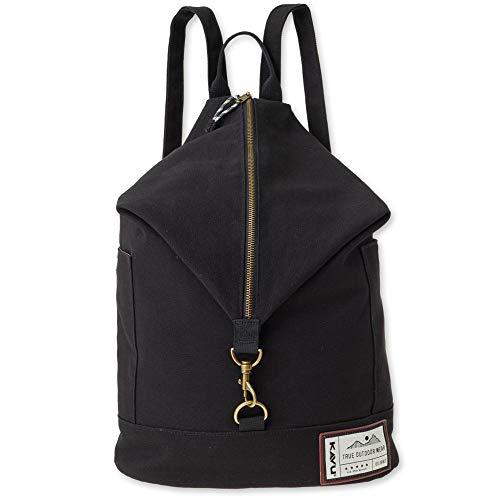 KAVU Free Range Backpack Bucket Style Bag - Black