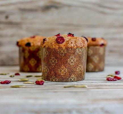 Paper Muffin/Cupcake Panettone High Style 2 3/4''x2'' - 25pcs