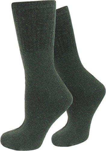 10 Paar Herren Army Socken aus Baumwolle Größe 43/46