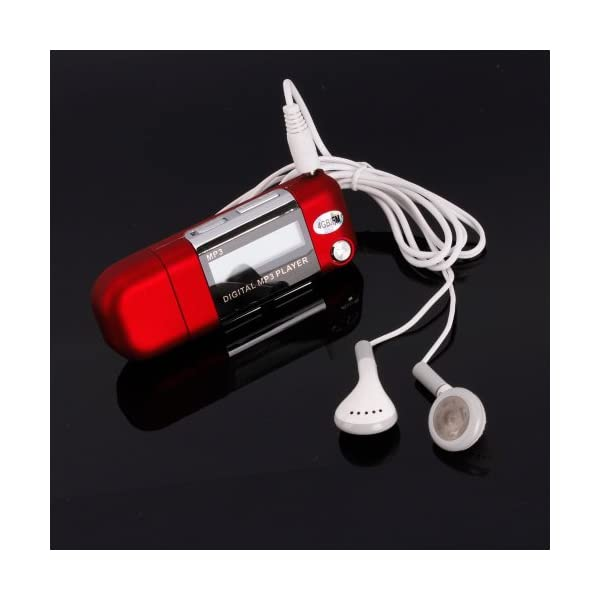 2/4/8GB USB 2.0 Flash Drive LCD Mini MP3 Music Player w/FM Radio Voice Recorder 4