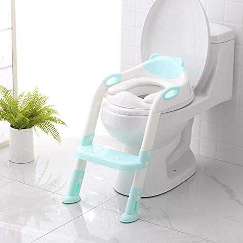 Baby Potty Toilet Trainer Seat Step Stool Ladder Réglable Training Chair toilet seat children s pot Potty Toilet-GN