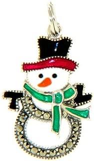 Snowman Charm