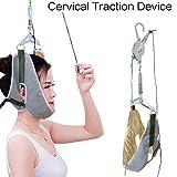 JJDD Tracción Cervical, por Encima de la Puerta Over Door Kit Cervical Tracción del Cuello Neck Pain Relief