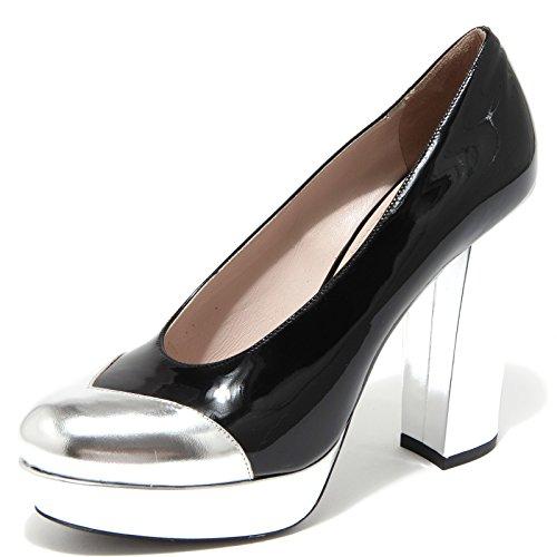 Miu Miu 62531 Decollete Argento Scarpa Donna Shoes Women [37]