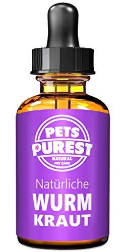 Pets Purest 100% natürliche Wurmkuren