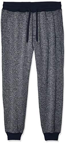 Southpole Men's Basic Fleece Marled Jogger Pant-Reg and Big & Tall Sizes, Navy, Small