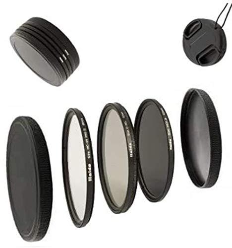 Digital Slim Filter Komplettset Pro für 62mm Objektive - Slim UV MC Pro II - Slim Zirkular Polfilter - Slim ND64 Neutral Graufilter + Bonus