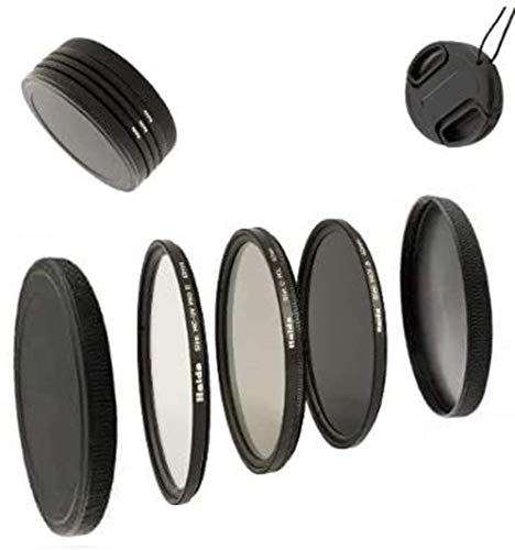 Digital Slim Filter Komplettset Pro für 62mm Objektive - Slim UV MC Pro II - Slim Zirkular Polfilter - Slim ND64 Neutral Graufilter + Bonus