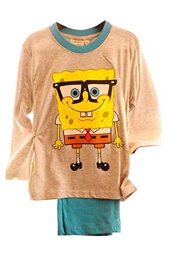 Schlafanzug Kinder Pyjama Sponge Bob 104 110 Pyjamaset Set Hose Shirt Anzug
