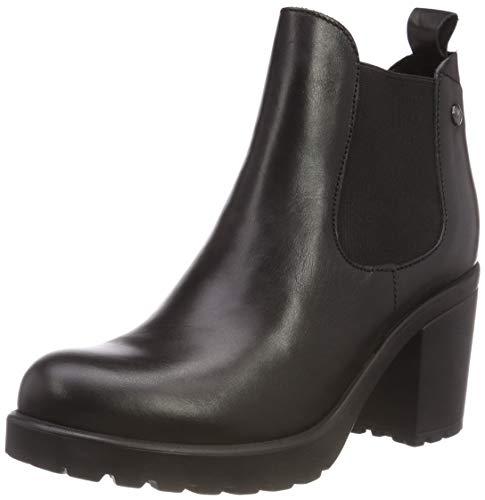 s.Oliver Damen 5-5-25410-21 003 Chelsea Boots, Schwarz (Black Leather 3), 38 EU