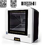 Escáner automático de código de barras 2D de escritorio, symcode 2D USB con cable manos libres automático QR código matriz de datos PDF-417 lector de código de barras USB