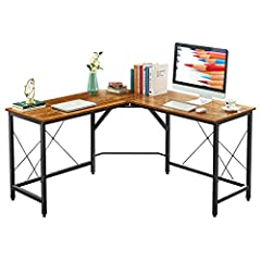 "✔ Larger Desktop & Ample Space:(59+59)"" L*21.7"" D double desktop, the office computer desk can provide massive space to lay 2-3 monitors or screens, books, papers, documents, and plants on the spacious desktop. Easy switch of the two sides as your ha..."