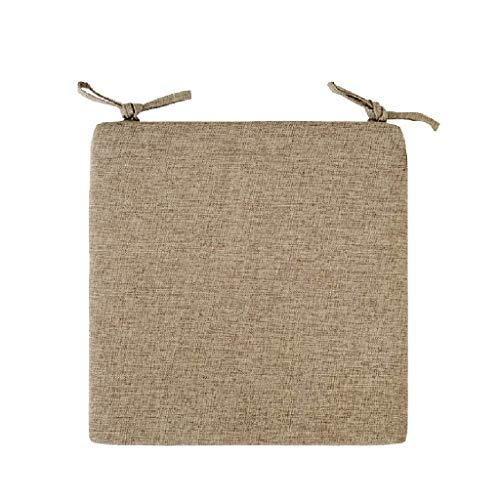 Silla de Comedor Silla de Oficina Silla de la Oficina Sponge Pad Square Pad Suelo Cushion Taburete de Taburete D5 / 12 Kaikai