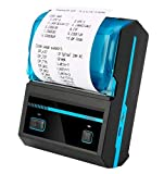 munshiG Wireless Bluetooth Thermal Printer | Battery Backup + Chargeable | Android, iOS