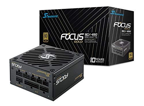 Seasonic Focus SGX-650 unité d'alimentation d'énergie 650 W SFX Noir - Unités d'alimentation d'énergie (650 W, 100-240, 50/60, 100 W, 648 W, 100 W)