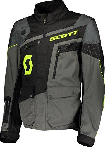 Scott 350 ADV Motorrad Jacke grau/schwarz 2019: Größe: L (50/52)