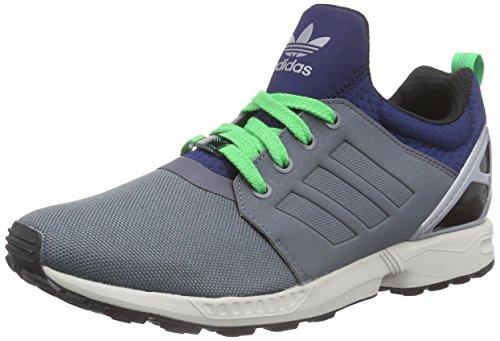 adidas Originals Herren ZX Flux NPS UPDT Sneakers, Grau (Onix/Onix/Dark Blue), 40 2/3 EU
