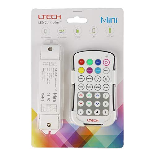 LTRGBW M7 LED Controller Schalter-Steuerung RGB-Streifen-Band-Beleuchtung 5050 Ribbon-Lampe (5 Jahre Garantie)