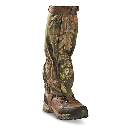 Guide Gear Camo Leg Gaiters for Hiking and Walking, Waterproof Snow Adjustable Boot Covers, One Size Fits Most