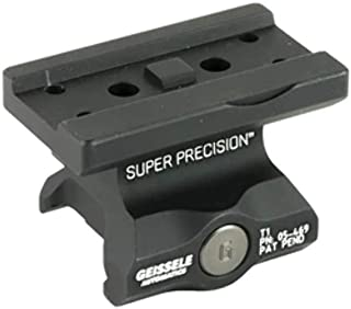 Geisselle Super Precision Mount, Fits Aimpoint T1 Lower 1/3 Co-Witness