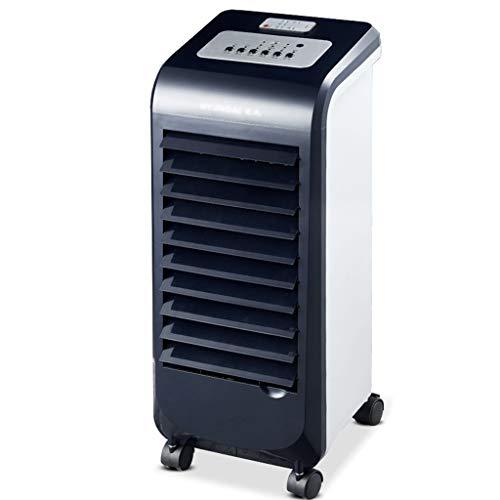 Braveheat Smart Air Cooler mit Fernbedienung, 3 Luftstromeinstellungen, Normal, Natürlich und Schlaf, 7-Stunden-Timer und Weitwinkel-Luftzufuhr, Luftreinigerfunktion, Schwarz