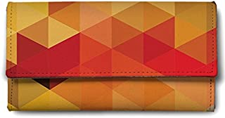 ShopMantra Abstract Triangle Patterns Ladies Wallet