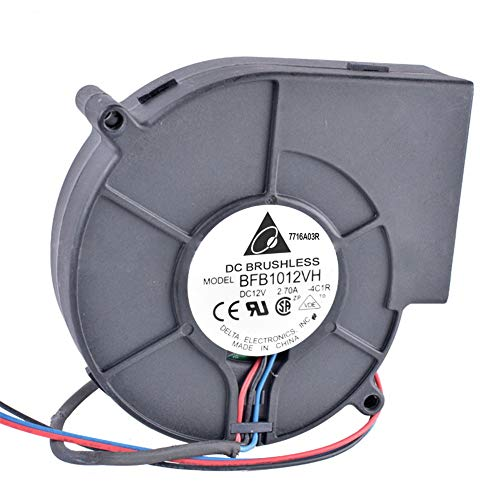 XuBa afvoerlucht-DC-centrifugaal-turbo-blazer voor de koeling van barbecue-verwarmingstoestellen.