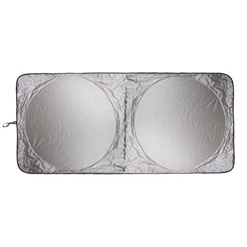 WINOMO 190 * 90cm Auto Sonnenschutz Solar Reflektierende Silber Front Windowshield Sonnenschutz UV Strahlen Block Beschützer