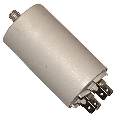 AERZETIX: Condensatore permanente di lavoro per motore accensione 40µF 425V con terminali 6,3mm C10529