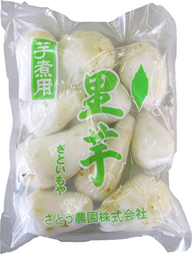 芋煮用 国産里芋(洗い&むき)2000g(500g×4)