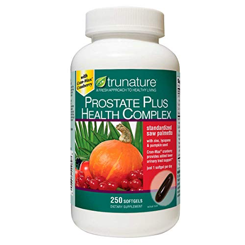 250 softgels Saw Palmetto Zinc, Lycopene and Pumpkin Seed For Adults - One softgel daily with a meal as a dietary supplement
