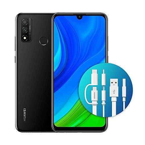 "Huawei Psmart 2020 con Adattatore AP55S, Display FullView da 6.21"", Kirin 710 - Octa Core (Versione Italiana), Midnight Black"