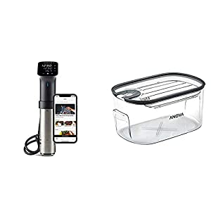 Anova Culinary | Sous Vide Precision Cooker Pro (WiFi) | 1200 Watts | All Metal | Anova App Included & ANTC01 Sous Vide…