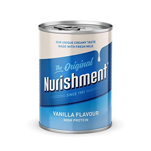 Nurishment De originele vanille smaak 400g (Pack van 12)