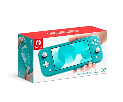 Nintendo Switch Lite Hand-Held Gaming Console - Turquoise (HDH-001) (Renewed)