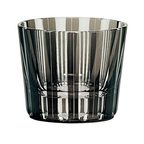NARUMI(ナルミ) ペア グラス グラスワークス 干支(丑) 黒&赤 冷酒杯120cc 2客セット GW6000-2221