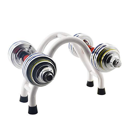 ZJONE Soporte para mancuernas, compacto y robusto, soporte para mancuernas, soporte para...