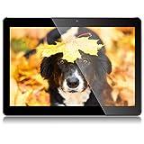 Tablet 10 Zoll Android 8.1 Tablet PC Qimaoo 3G Tablets mit 2 GB RAM Quad Core 32 GB ROM IPS HD (1280 x 800), Dual SIM/Kamera 2MP+5MP, Unterstützung WiFi/GPS/Bluetooth/OTG