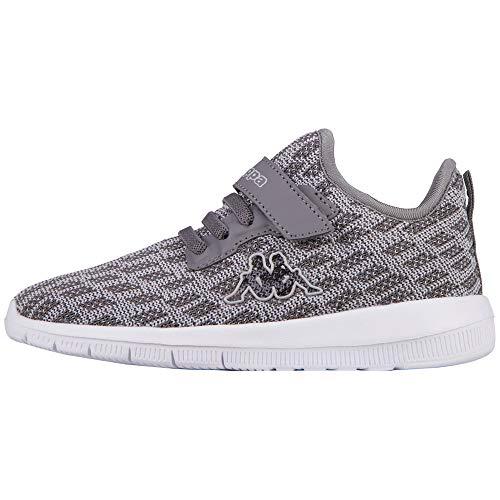 Kappa Gizeh Sneaker, Grau (1614 Grey/L´Grey), 30 EU