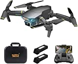 FPV WiFi Drone with 4K Adjustable Camera Live Video 120° Wide-angle 6-Axis Gyro Foldable RC Quadcopter for Beginners with Altitude Hold,Gift Present for Kids Boys 8-12 Years Old
