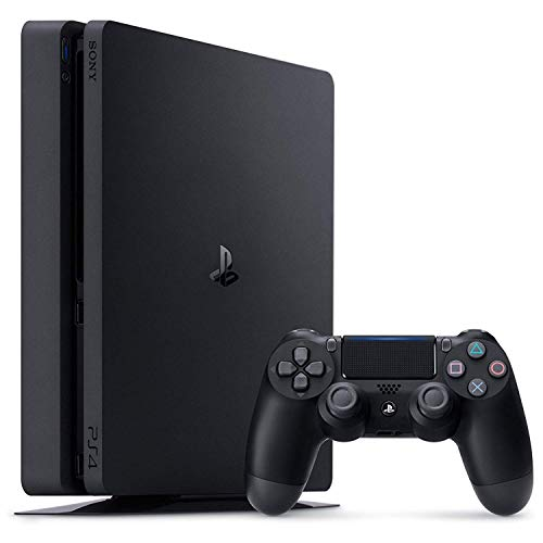 Playstation Sony 4, 500GB Slim System [CUH-2215AB01], Black, 3003347 (Renewed)