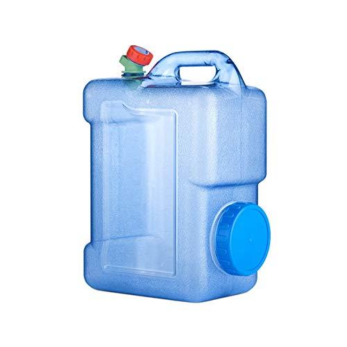 adad Campinggeschirr-Wasserkanister Outdoor 22L Wasserspeicher Mit Großer Kapazität Tragbarer Tragbarer Wasserspeichertank Mit Wasserhahn (Color : Blue, Size : 22L)